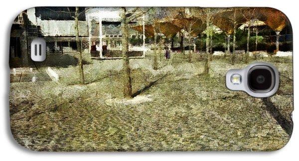Portuguese Mixed Media Galaxy S4 Cases - Parque das Nacoes Galaxy S4 Case by Dariusz Gudowicz