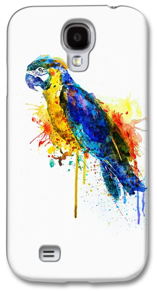 Parrot Watercolor  Galaxy S4 Case by Marian Voicu