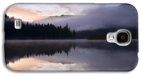 Fog Mist Galaxy S4 Cases - Pastel Dawn Galaxy S4 Case by Mike  Dawson
