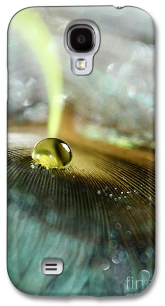 Fantasy Photographs Galaxy S4 Cases - Peacock Fortune Galaxy S4 Case by Krissy Katsimbras