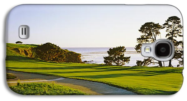 Pebble Beach Golf Course, Pebble Beach Galaxy S4 Case by Panoramic Images
