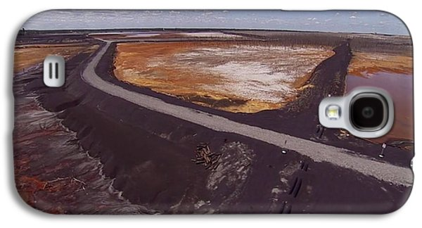 Business Galaxy S4 Cases - Perfect poster of an UGLY polluted landscape of North America read Canada Galaxy S4 Case by Navin Joshi