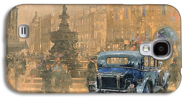 Phantom In Piccadilly  Galaxy S4 Case by Peter Miller