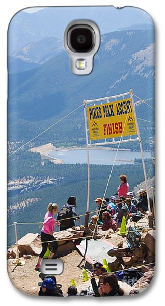 Footrace Galaxy S4 Cases - Pikes Peak Marathon and Ascent Galaxy S4 Case by Steve Krull