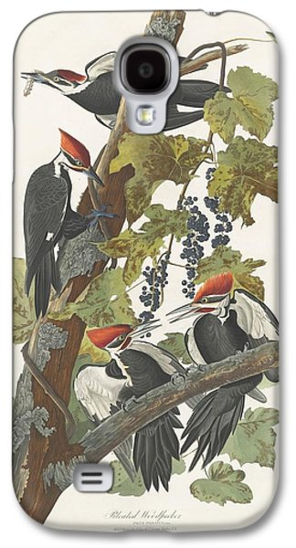 Pileated Woodpecker Galaxy S4 Case by John James Audubon