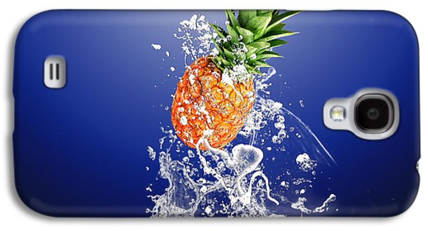 Pineapple Splash Galaxy S4 Case by Marvin Blaine