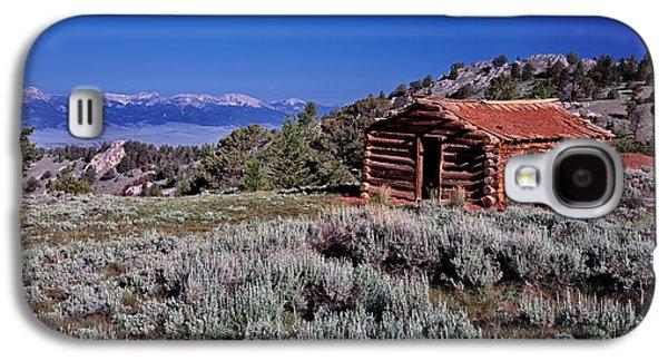 Pioneer Cabin Galaxy S4 Case by Leland D Howard
