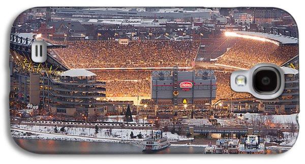 Pittsburgh Galaxy S4 Cases - Pittsburgh 4 Galaxy S4 Case by Emmanuel Panagiotakis