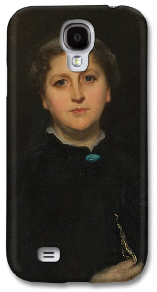 Portrait Of Mrs Raphael Pumpelly Galaxy S4 Case by John Singer Sargent