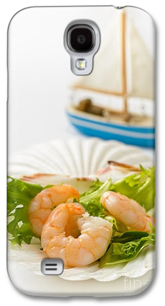 Toy Boat Galaxy S4 Cases - Prawn Salad Galaxy S4 Case by Amanda And Christopher Elwell