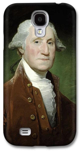 Warishellstore Paintings Galaxy S4 Cases - President George Washington  Galaxy S4 Case by War Is Hell Store