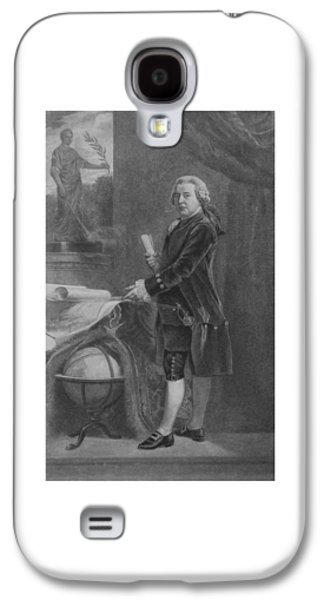 4th July Mixed Media Galaxy S4 Cases - President John Adams Galaxy S4 Case by War Is Hell Store