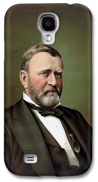 President Galaxy S4 Cases - President Ulysses S Grant Galaxy S4 Case by War Is Hell Store