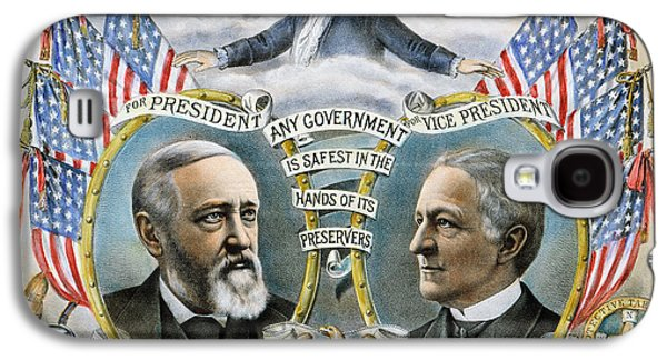 Levi Galaxy S4 Cases - Presidential Campaign, 1888 Galaxy S4 Case by Granger