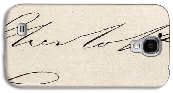 Charlotte Drawings Galaxy S4 Cases - Princess Charlotte Caroline Galaxy S4 Case by Ken Welsh