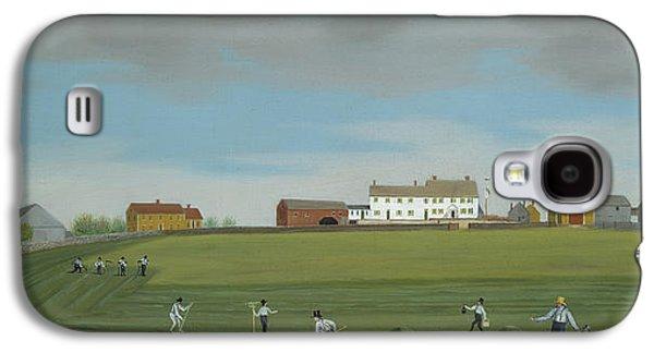 Quaker Paintings Galaxy S4 Cases - Ralph Wheelocks Farm Galaxy S4 Case by Francis Alexander