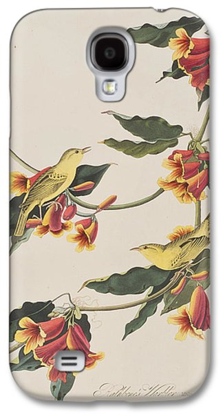 Rathbone Warbler Galaxy S4 Case by John James Audubon