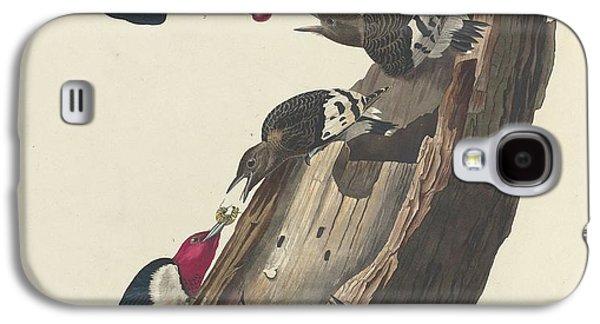 Red-headed Woodpecker Galaxy S4 Case by John James Audubon