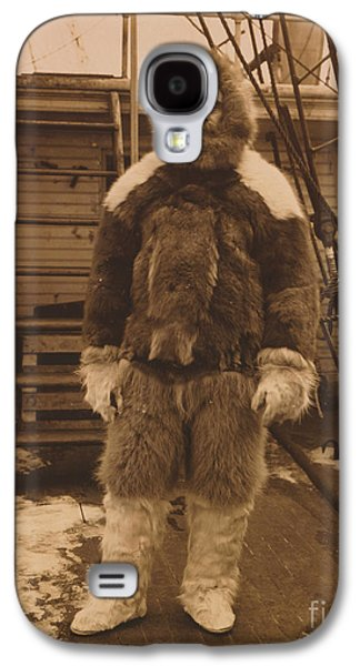 Personalities Photographs Galaxy S4 Cases - Robert Edwin Peary, American Explorer Galaxy S4 Case by Photo Researchers
