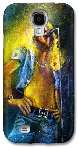 Robert Plant 01 Galaxy S4 Case by Miki De Goodaboom
