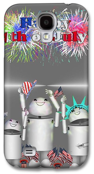 Robo-x9 Celebrates Freedom Galaxy S4 Case by Gravityx9  Designs