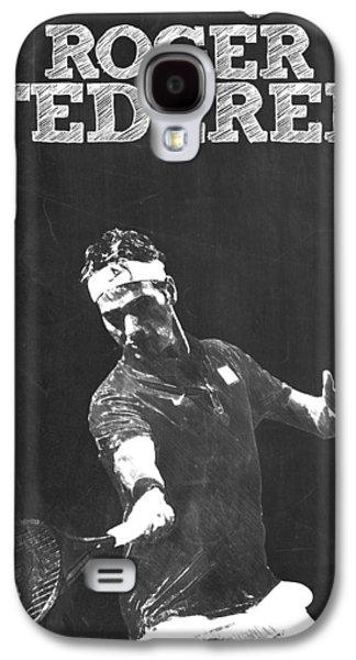Roger Federer Galaxy S4 Case by Semih Yurdabak