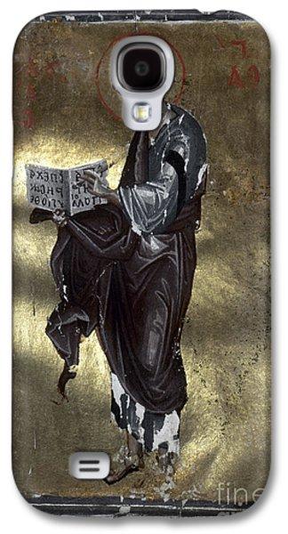 Orthodox Paintings Galaxy S4 Cases - Saint Luke Galaxy S4 Case by Granger