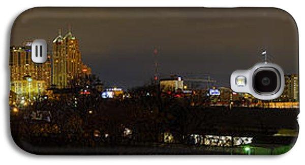 Skyline Galaxy S4 Cases - San Antonio Panorama Galaxy S4 Case by Tim Stanley