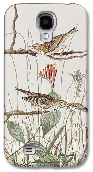 Savannah Finch Galaxy S4 Case by John James Audubon