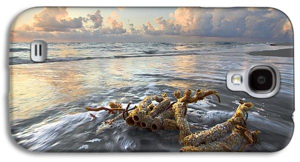 Sun Galaxy S4 Cases - Sea Jewel Galaxy S4 Case by Debra and Dave Vanderlaan