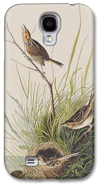 Sharp Tailed Finch Galaxy S4 Case by John James Audubon