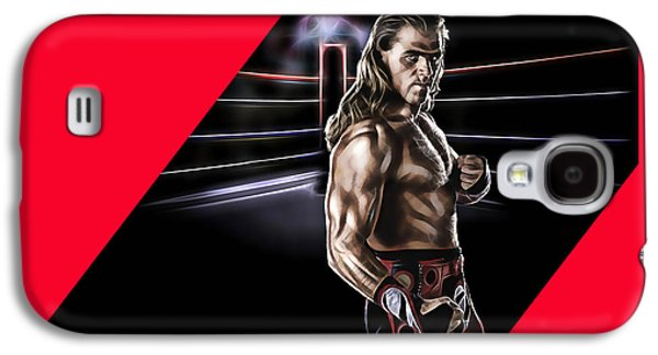 Shawn Michaels Wrestling Collection Galaxy S4 Case by Marvin Blaine