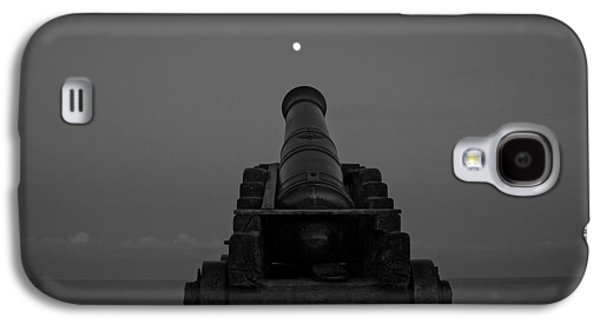 Sea Moon Full Moon Galaxy S4 Cases - Shoot for the Moon Galaxy S4 Case by Dave Meier