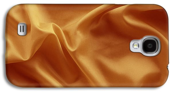 Cloth Galaxy S4 Cases - Silk texture Galaxy S4 Case by Les Cunliffe
