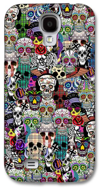 Halloween Galaxy S4 Case by Mark Ashkenazi
