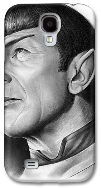 Spock Galaxy S4 Case by Greg Joens