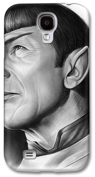 Spock Galaxy S4 Case by Greg Joens