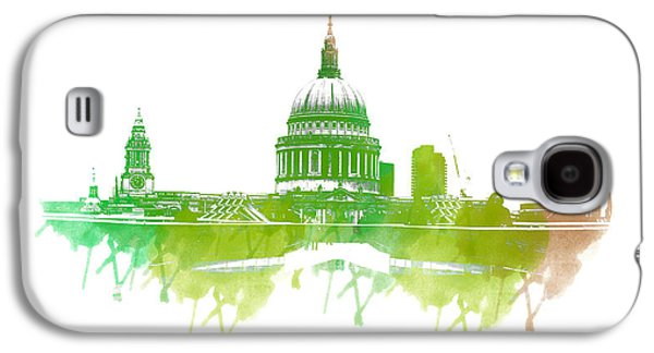 Style Life Photographs Galaxy S4 Cases - St Pauls Cathedral Galaxy S4 Case by Martin Newman