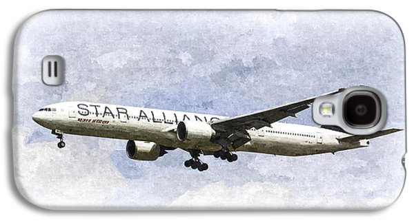 Star Alliance Galaxy S4 Cases - Star Alliance Boeing 777 Galaxy S4 Case by David Pyatt