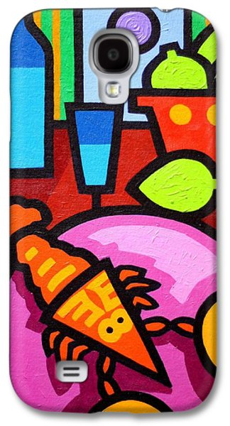 Wine Canvas Paintings Galaxy S4 Cases - Still Life At Window  Galaxy S4 Case by John  Nolan