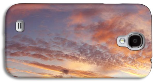 Nature Abstract Galaxy S4 Cases - Summer sky Galaxy S4 Case by Les Cunliffe