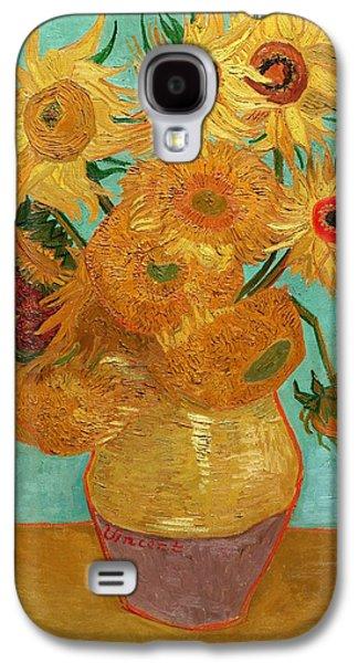 Sunflowers Galaxy S4 Case by Van Gogh