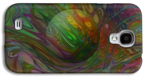 Abstract Forms Galaxy S4 Cases - Suspended Galaxy S4 Case by Jack Zulli