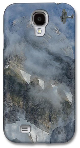 Vertical Flight Galaxy S4 Cases - Swiss Alps Galaxy S4 Case by Christian Heeb