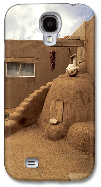Taos Galaxy S4 Cases - Taos Pueblo Galaxy S4 Case by Jerry McElroy