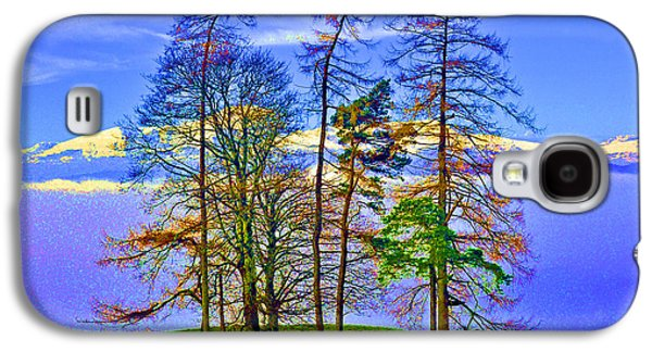 Temperature Inversion Galaxy S4 Cases - Temperature inversion over Windermere. Galaxy S4 Case by Stan Pritchard