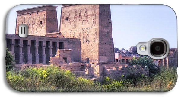 Phila Galaxy S4 Cases - Temple of Philae - Egypt Galaxy S4 Case by Joana Kruse
