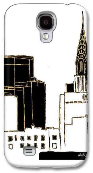 Tenement Empire State Building Galaxy S4 Case by Nicholas Biscardi