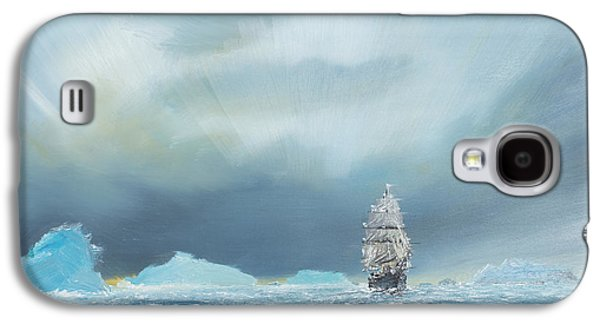 Terra Paintings Galaxy S4 Cases - Terra Nova Galaxy S4 Case by Vincent Alexander Booth