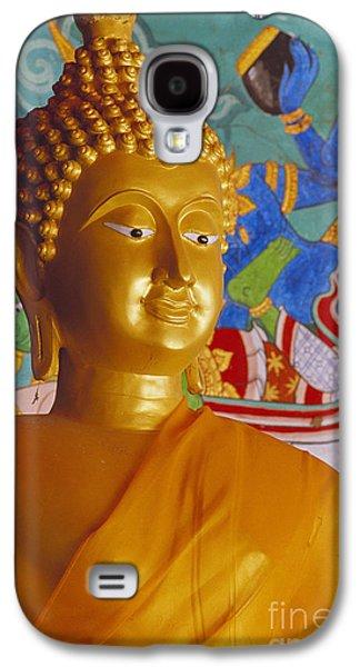 Statue Portrait Galaxy S4 Cases - Thailand, Lop Buri Galaxy S4 Case by Bill Brennan - Printscapes